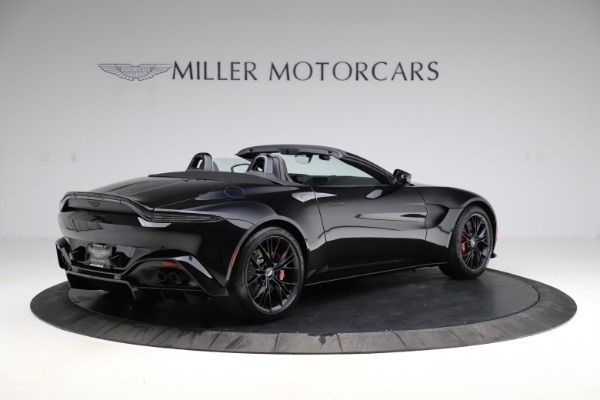 New 2021 Aston Martin Vantage Roadster Convertible for sale $189,186 at Alfa Romeo of Greenwich in Greenwich CT 06830 7