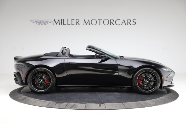 New 2021 Aston Martin Vantage Roadster for sale Sold at Alfa Romeo of Greenwich in Greenwich CT 06830 8