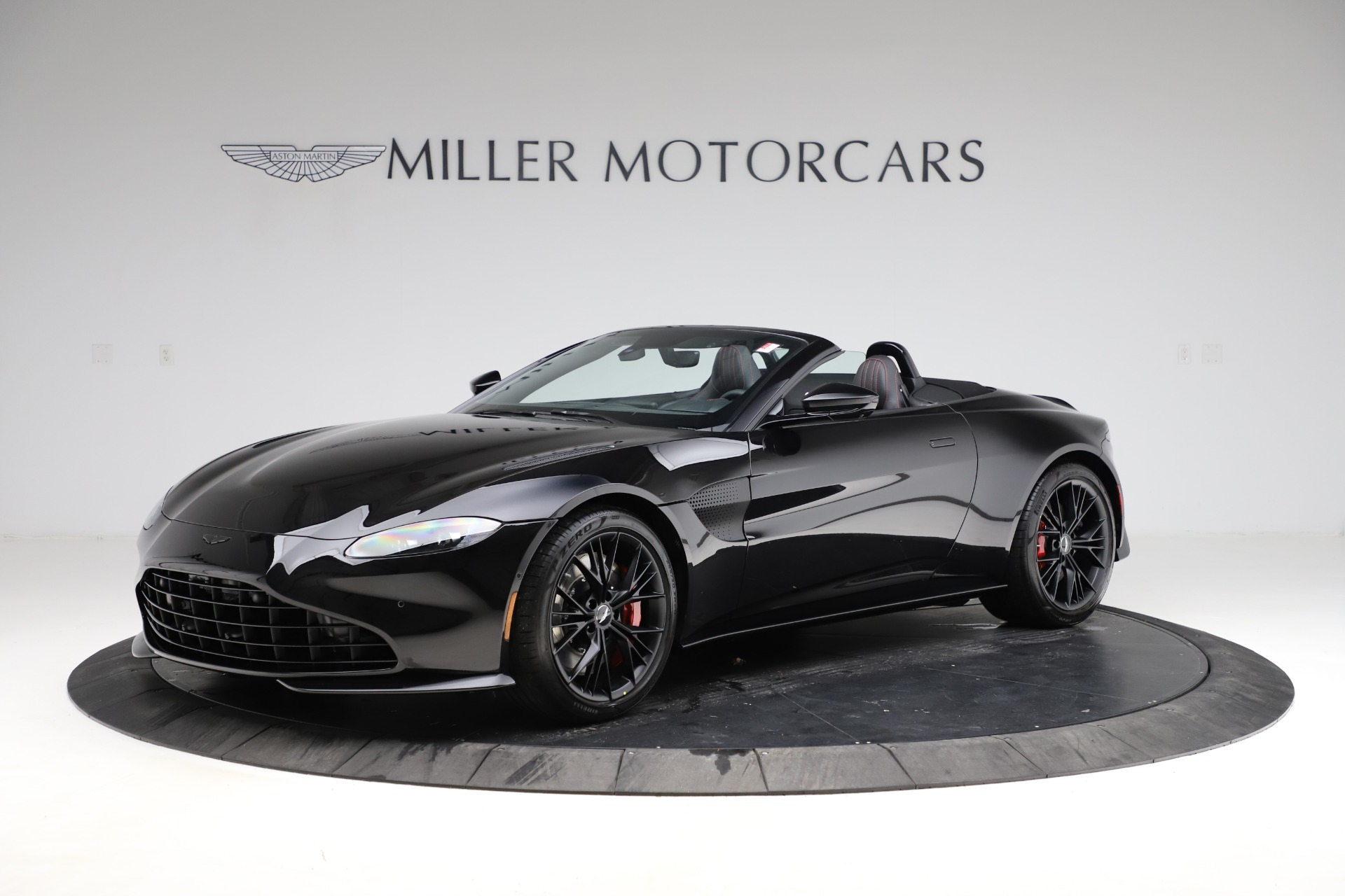 New 2021 Aston Martin Vantage Roadster for sale Sold at Alfa Romeo of Greenwich in Greenwich CT 06830 1