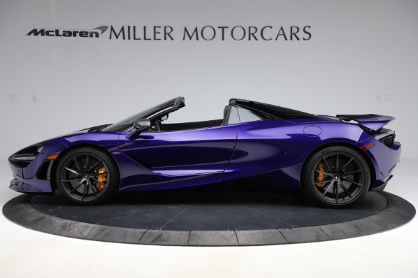 Used 2020 McLaren 720S Spider for sale Call for price at Alfa Romeo of Greenwich in Greenwich CT 06830 11