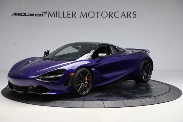 Used 2020 McLaren 720S Spider for sale Call for price at Alfa Romeo of Greenwich in Greenwich CT 06830 12