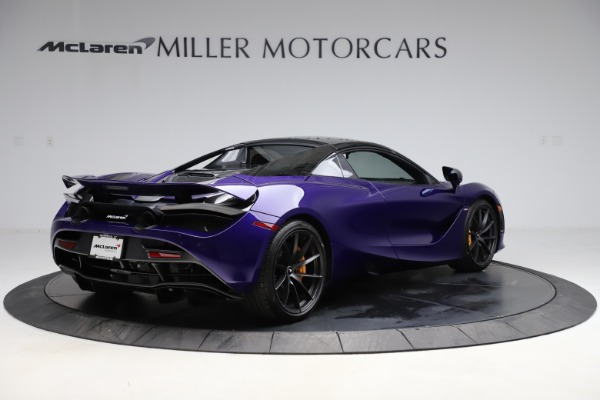 Used 2020 McLaren 720S Spider for sale Call for price at Alfa Romeo of Greenwich in Greenwich CT 06830 15