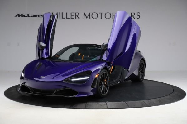 Used 2020 McLaren 720S Spider for sale Call for price at Alfa Romeo of Greenwich in Greenwich CT 06830 19