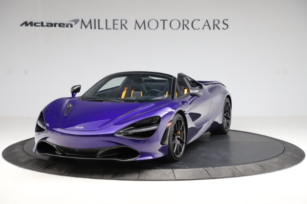 Used 2020 McLaren 720S Spider for sale Call for price at Alfa Romeo of Greenwich in Greenwich CT 06830 2