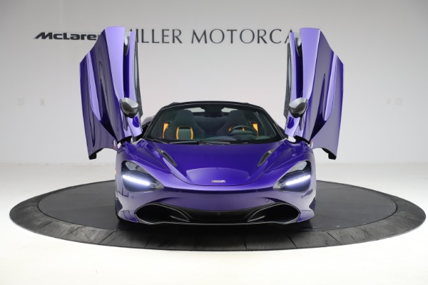 Used 2020 McLaren 720S Spider for sale Call for price at Alfa Romeo of Greenwich in Greenwich CT 06830 20