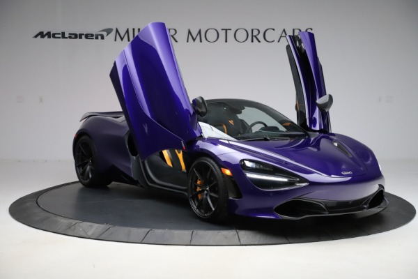 Used 2020 McLaren 720S Spider Performance for sale $324,990 at Alfa Romeo of Greenwich in Greenwich CT 06830 21