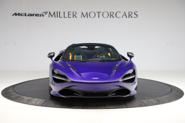 Used 2020 McLaren 720S Spider for sale Call for price at Alfa Romeo of Greenwich in Greenwich CT 06830 3