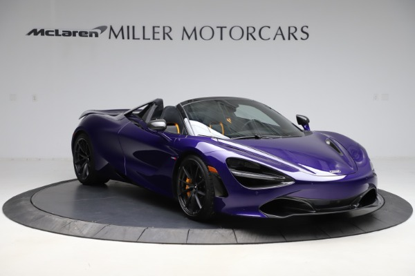 Used 2020 McLaren 720S Spider for sale Call for price at Alfa Romeo of Greenwich in Greenwich CT 06830 4