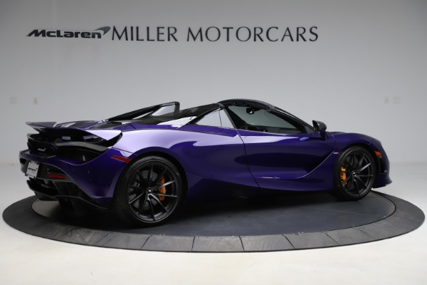 Used 2020 McLaren 720S Spider for sale Call for price at Alfa Romeo of Greenwich in Greenwich CT 06830 7