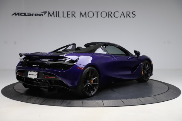 Used 2020 McLaren 720S Spider for sale Call for price at Alfa Romeo of Greenwich in Greenwich CT 06830 8