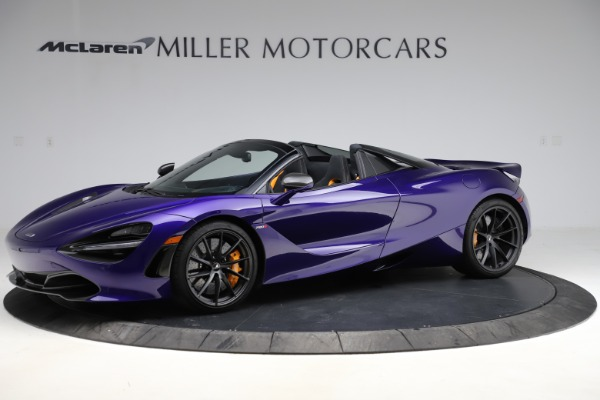 Used 2020 McLaren 720S Spider for sale Call for price at Alfa Romeo of Greenwich in Greenwich CT 06830 1