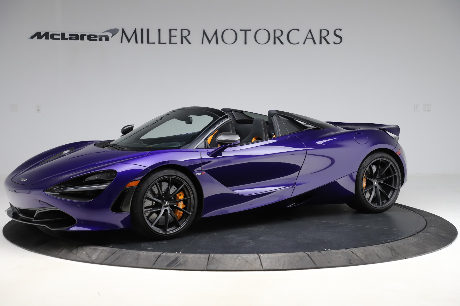 Used 2020 McLaren 720S Spider Performance for sale $324,990 at Alfa Romeo of Greenwich in Greenwich CT 06830 1