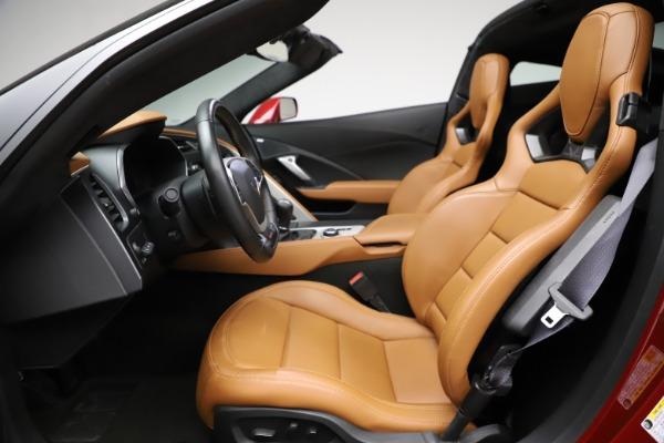 Used 2015 Chevrolet Corvette Z06 for sale $85,900 at Alfa Romeo of Greenwich in Greenwich CT 06830 17