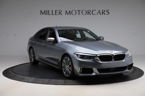 Used 2018 BMW 5 Series M550i xDrive for sale $49,900 at Alfa Romeo of Greenwich in Greenwich CT 06830 11