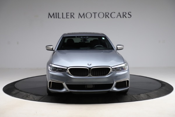 Used 2018 BMW 5 Series M550i xDrive for sale $49,900 at Alfa Romeo of Greenwich in Greenwich CT 06830 12