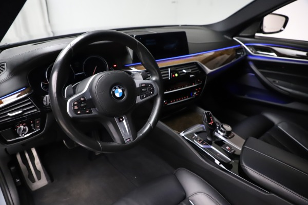 Used 2018 BMW 5 Series M550i xDrive for sale $49,900 at Alfa Romeo of Greenwich in Greenwich CT 06830 13