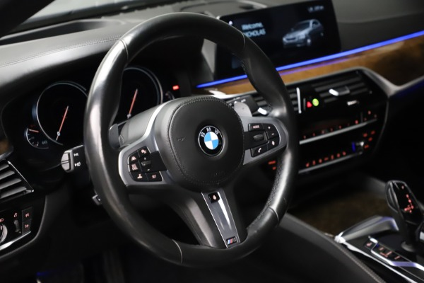 Used 2018 BMW 5 Series M550i xDrive for sale $49,900 at Alfa Romeo of Greenwich in Greenwich CT 06830 16