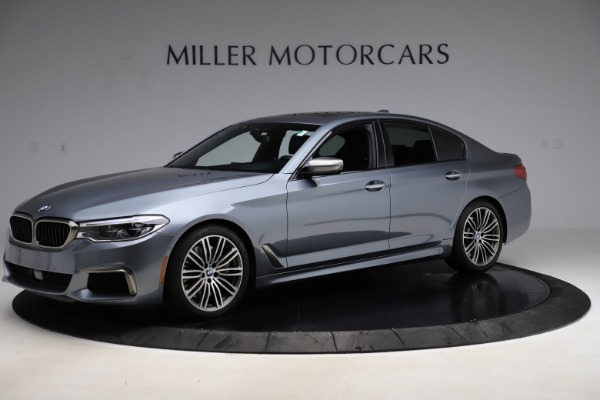 Used 2018 BMW 5 Series M550i xDrive for sale $49,900 at Alfa Romeo of Greenwich in Greenwich CT 06830 2