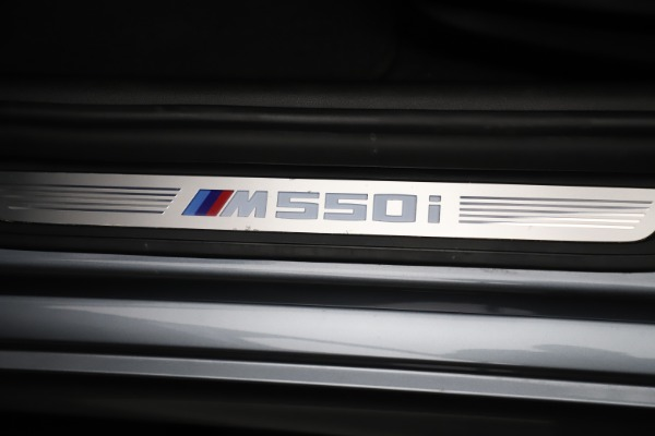 Used 2018 BMW 5 Series M550i xDrive for sale $49,900 at Alfa Romeo of Greenwich in Greenwich CT 06830 24