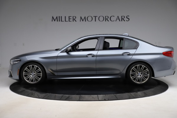 Used 2018 BMW 5 Series M550i xDrive for sale $49,900 at Alfa Romeo of Greenwich in Greenwich CT 06830 3