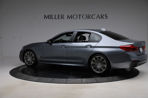 Used 2018 BMW 5 Series M550i xDrive for sale $49,900 at Alfa Romeo of Greenwich in Greenwich CT 06830 4