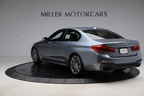 Used 2018 BMW 5 Series M550i xDrive for sale $49,900 at Alfa Romeo of Greenwich in Greenwich CT 06830 5