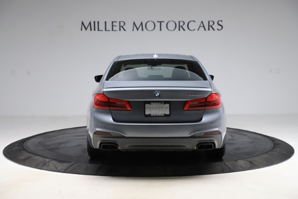 Used 2018 BMW 5 Series M550i xDrive for sale $49,900 at Alfa Romeo of Greenwich in Greenwich CT 06830 6
