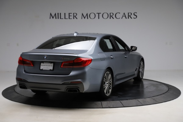 Used 2018 BMW 5 Series M550i xDrive for sale $49,900 at Alfa Romeo of Greenwich in Greenwich CT 06830 7