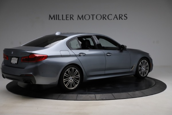 Used 2018 BMW 5 Series M550i xDrive for sale $49,900 at Alfa Romeo of Greenwich in Greenwich CT 06830 8