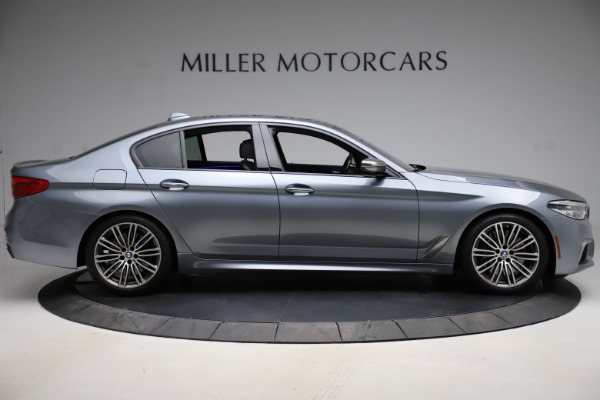 Used 2018 BMW 5 Series M550i xDrive for sale $49,900 at Alfa Romeo of Greenwich in Greenwich CT 06830 9