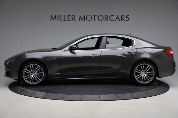 Used 2018 Maserati Ghibli SQ4 GranLusso for sale Call for price at Alfa Romeo of Greenwich in Greenwich CT 06830 3