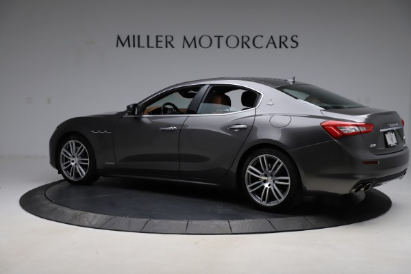 Used 2018 Maserati Ghibli SQ4 GranLusso for sale Call for price at Alfa Romeo of Greenwich in Greenwich CT 06830 4