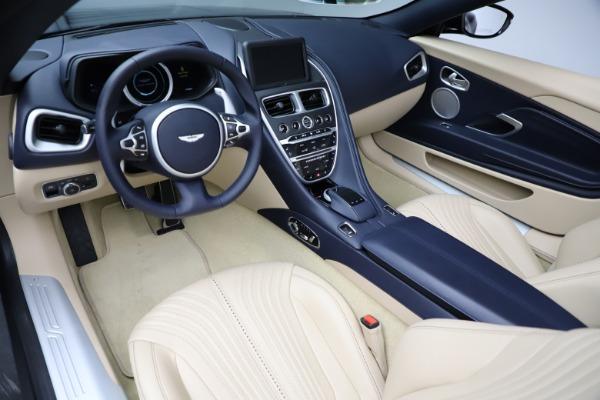 New 2021 Aston Martin DB11 Volante Convertible for sale $274,916 at Alfa Romeo of Greenwich in Greenwich CT 06830 13
