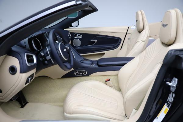 New 2021 Aston Martin DB11 Volante Convertible for sale $274,916 at Alfa Romeo of Greenwich in Greenwich CT 06830 14
