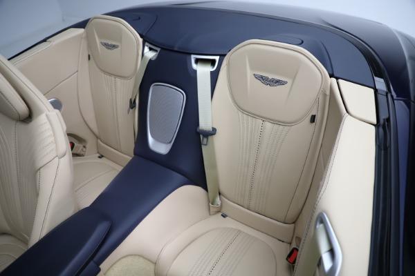 New 2021 Aston Martin DB11 Volante Convertible for sale $274,916 at Alfa Romeo of Greenwich in Greenwich CT 06830 17