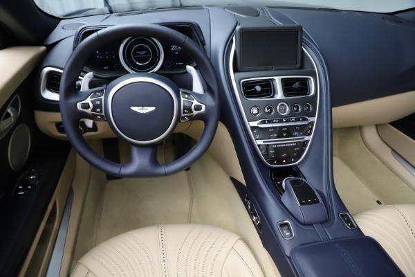 New 2021 Aston Martin DB11 Volante Convertible for sale $274,916 at Alfa Romeo of Greenwich in Greenwich CT 06830 18