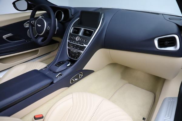 New 2021 Aston Martin DB11 Volante Convertible for sale $274,916 at Alfa Romeo of Greenwich in Greenwich CT 06830 19
