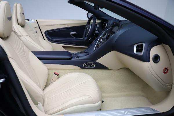 New 2021 Aston Martin DB11 Volante Convertible for sale $274,916 at Alfa Romeo of Greenwich in Greenwich CT 06830 20