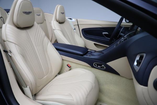 New 2021 Aston Martin DB11 Volante Convertible for sale $274,916 at Alfa Romeo of Greenwich in Greenwich CT 06830 21