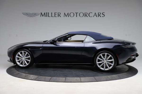 New 2021 Aston Martin DB11 Volante Convertible for sale $274,916 at Alfa Romeo of Greenwich in Greenwich CT 06830 23