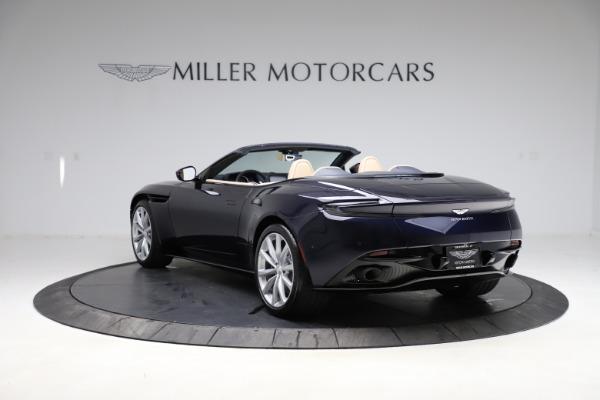 New 2021 Aston Martin DB11 Volante Convertible for sale $274,916 at Alfa Romeo of Greenwich in Greenwich CT 06830 4