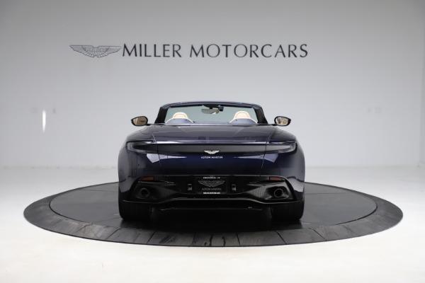 New 2021 Aston Martin DB11 Volante Convertible for sale $274,916 at Alfa Romeo of Greenwich in Greenwich CT 06830 5