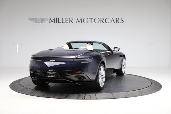 New 2021 Aston Martin DB11 Volante Convertible for sale $274,916 at Alfa Romeo of Greenwich in Greenwich CT 06830 6