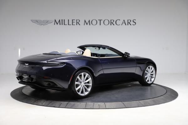 New 2021 Aston Martin DB11 Volante Convertible for sale $274,916 at Alfa Romeo of Greenwich in Greenwich CT 06830 7