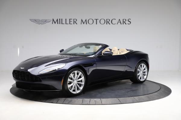 New 2021 Aston Martin DB11 Volante Convertible for sale $274,916 at Alfa Romeo of Greenwich in Greenwich CT 06830 1