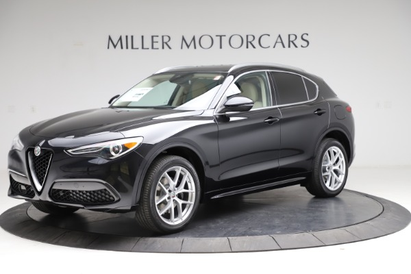 New 2021 Alfa Romeo Stelvio Ti Lusso Q4 for sale $57,750 at Alfa Romeo of Greenwich in Greenwich CT 06830 2