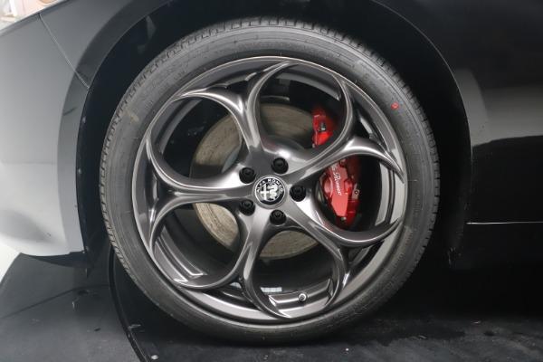 New 2021 Alfa Romeo Giulia Ti Sport Q4 for sale $56,300 at Alfa Romeo of Greenwich in Greenwich CT 06830 18