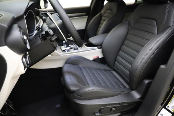 New 2021 Alfa Romeo Stelvio Ti Sport Q4 for sale Sold at Alfa Romeo of Greenwich in Greenwich CT 06830 15