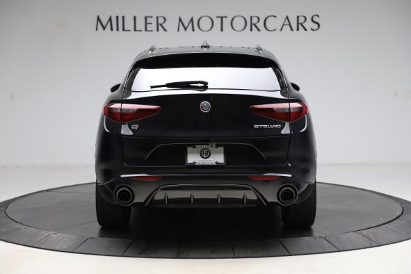 New 2021 Alfa Romeo Stelvio Ti Sport Q4 for sale Sold at Alfa Romeo of Greenwich in Greenwich CT 06830 6