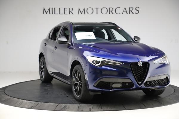 New 2021 Alfa Romeo Stelvio Ti Sport Q4 for sale $56,750 at Alfa Romeo of Greenwich in Greenwich CT 06830 11